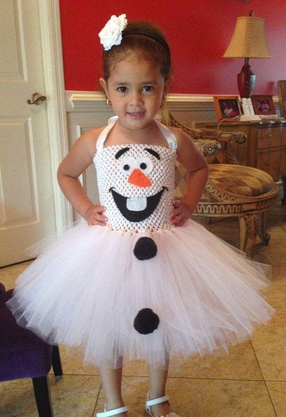 простой костюм снеговика
