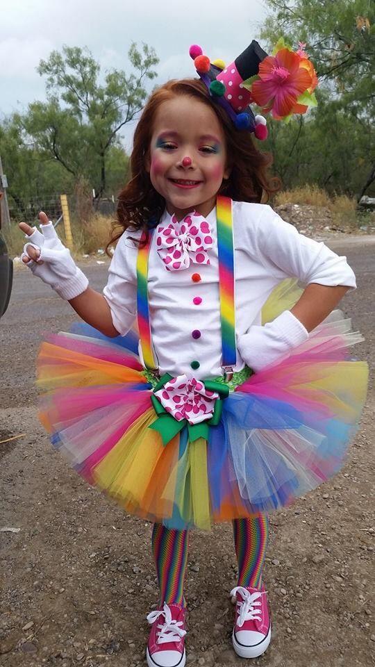 костюм клоунессы