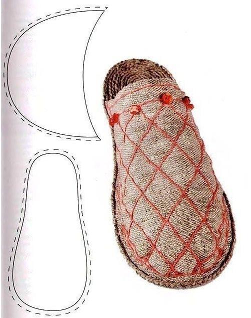 шлепанцы с закрытым носком
