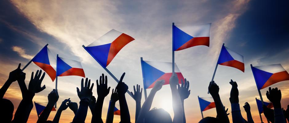 Czech flags