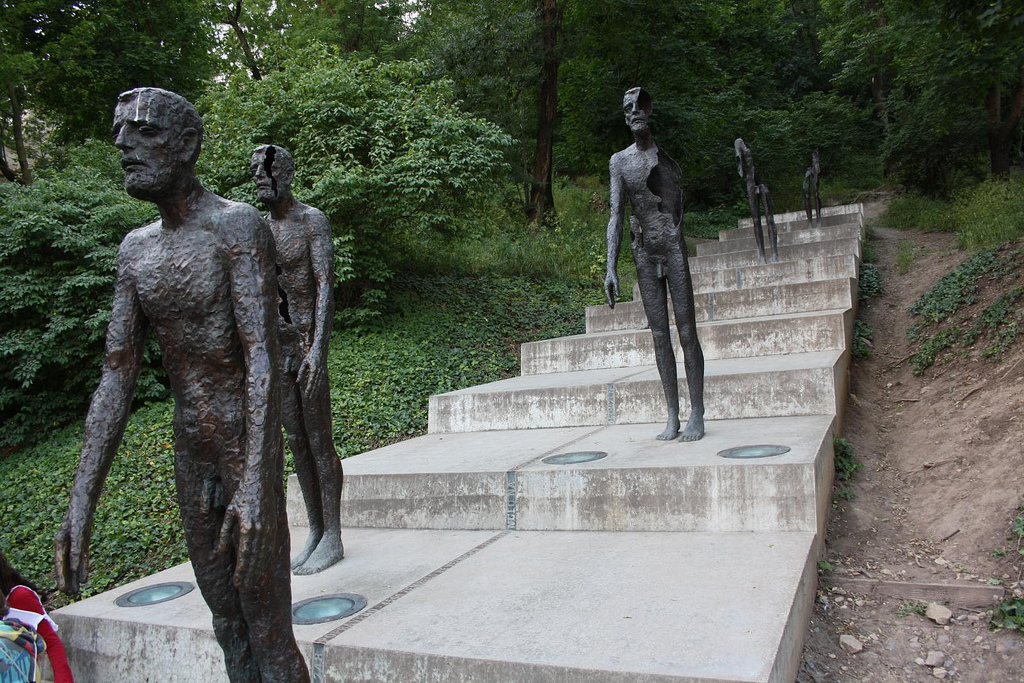 monument to the victims of communism in Prague