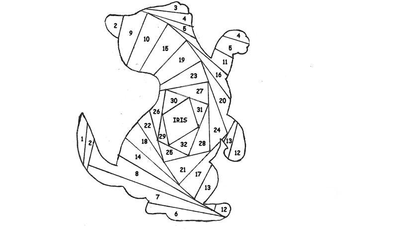 Картинки айрис фолдинг схемы шаблоны