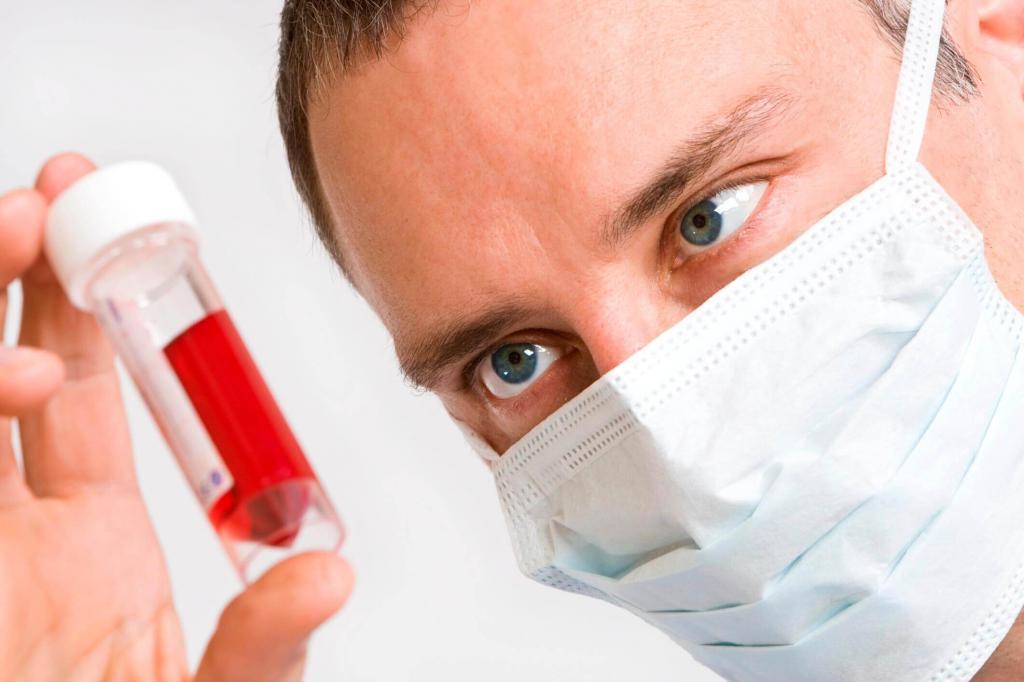 анализ крови при мононуклеозе