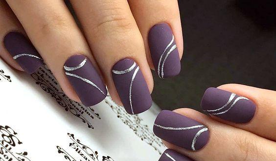 Однотонный шеллак на короткие ногти: идеи с фото