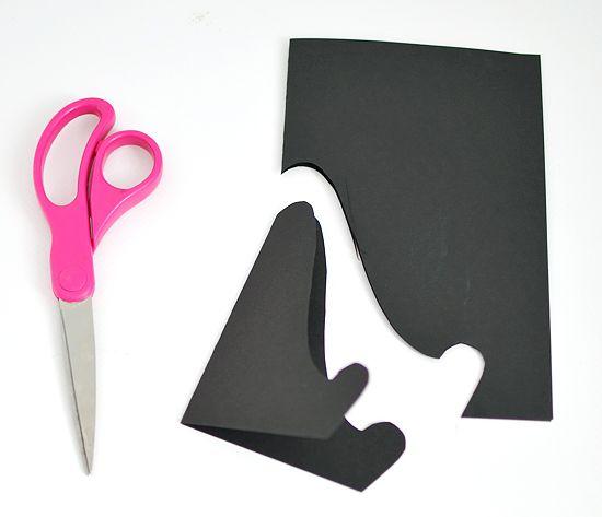 Подставка для открыток из бумаги