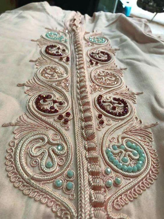 обшивание платья кантом