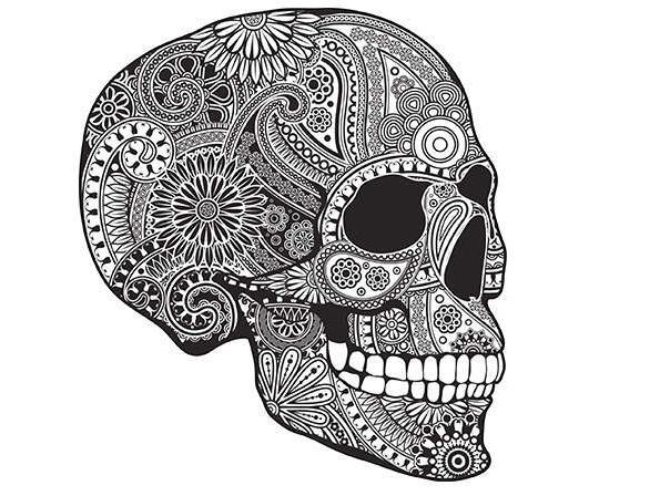 Тату черепа на плечо: значение, фото и эскизы работ