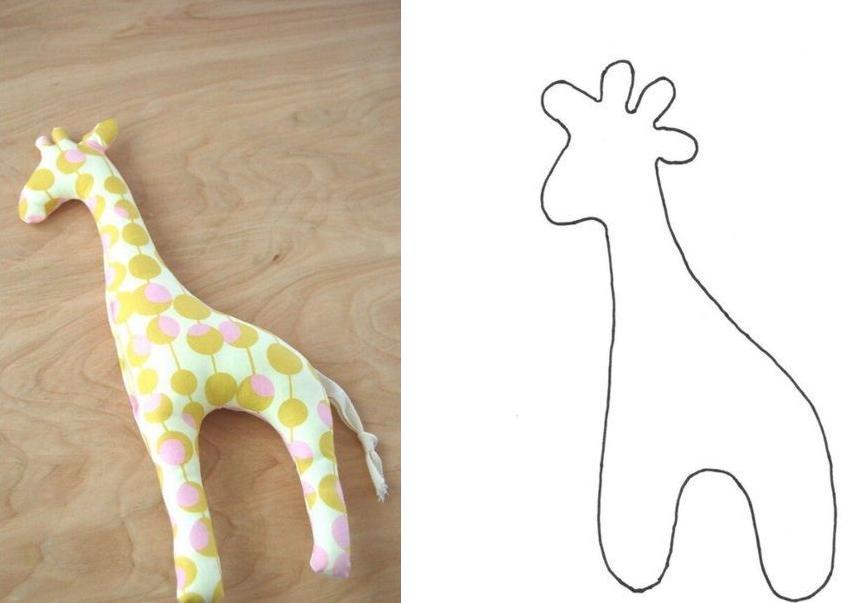 цельнокроеный жираф