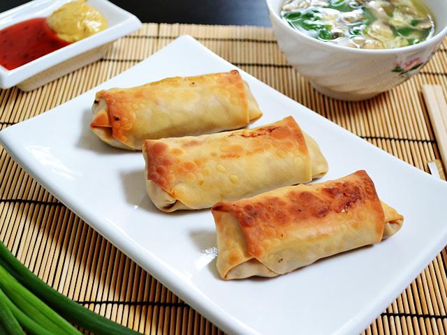 fried pita rolls