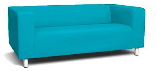 кожаный диван Икеа