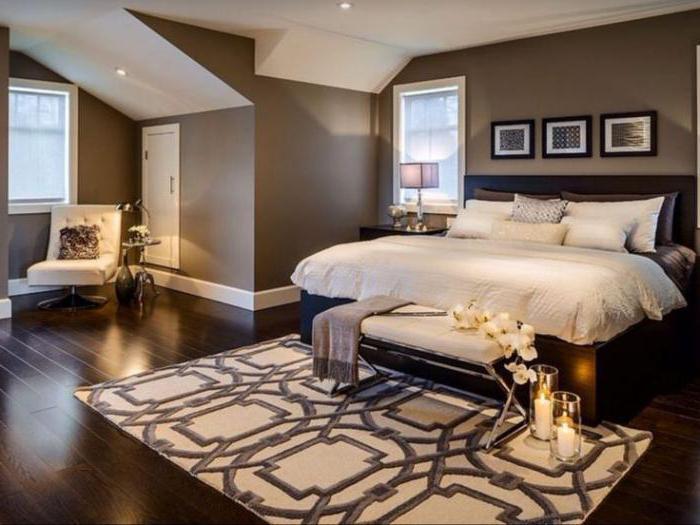 красивый интерьер спальни для девушки