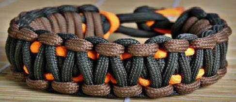 плетение из паракорда