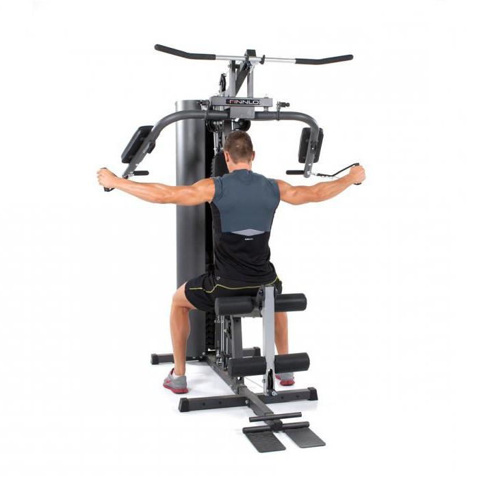 упражнение баттерфляй на тренажере