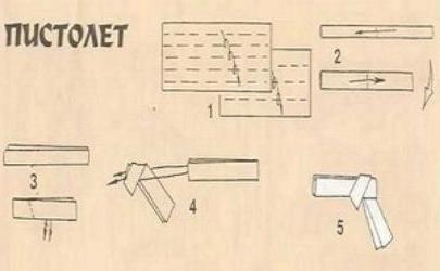 Как сделать из бумаги дробовик