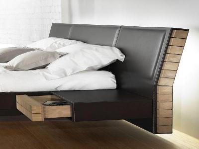 итальянские кровати с мягким изголовьем