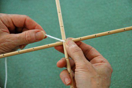 плетение мандалы мастер класс
