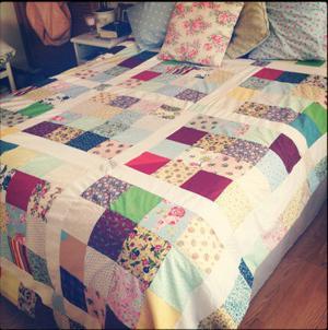 Одеяло из лоскутков — оригинально, прекрасно, особенно
