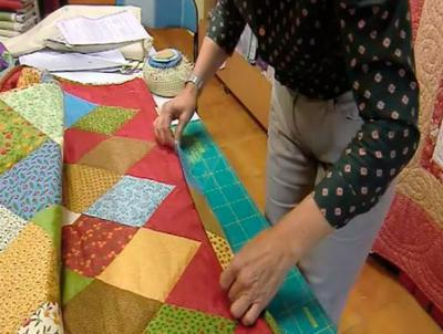 как пошить одеяло из лоскутков