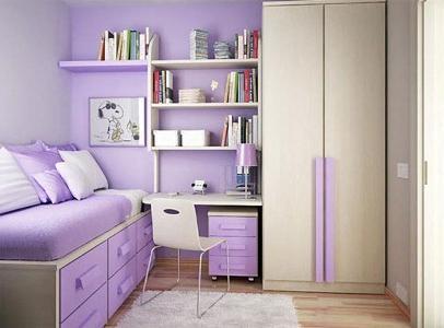 Дизайн спальни маленькой