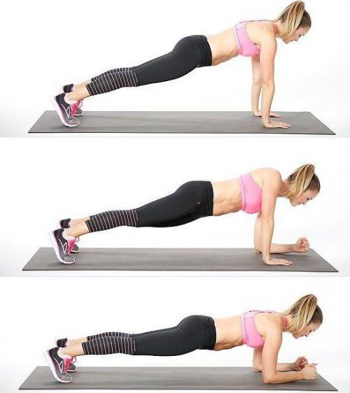 Как похудеть в руках девушкам: упражнения