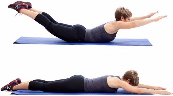 Упражнения для мышц спины в домашних условиях