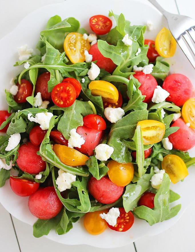 arugula and cherry salad recipe