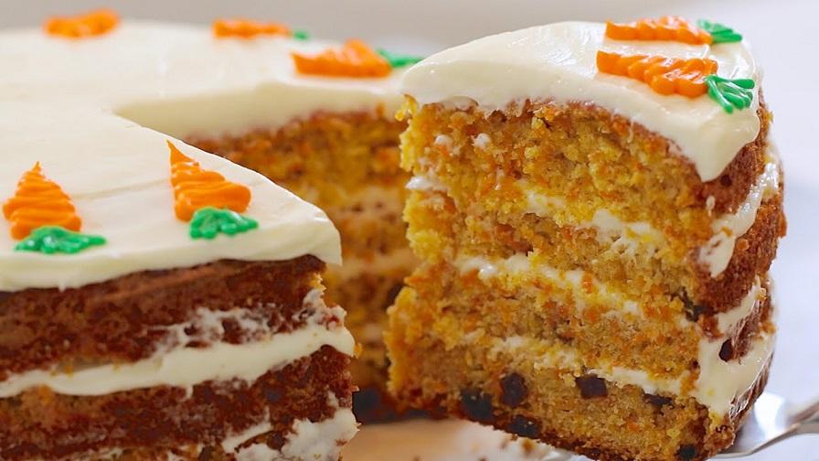 фото морковного торта
