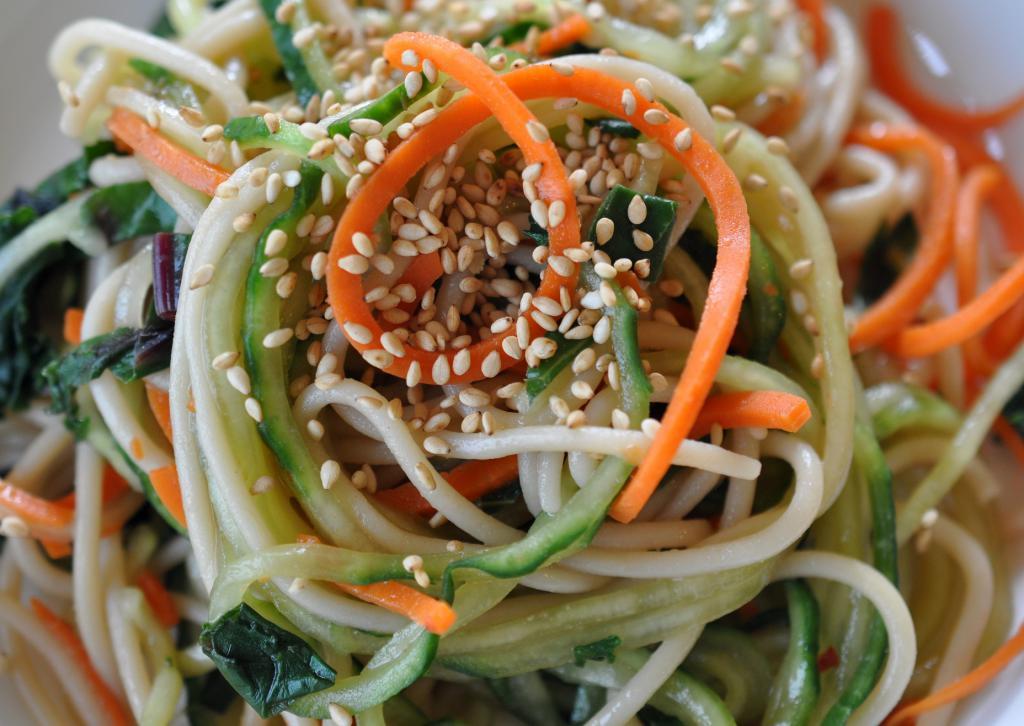 funchose noodle salad