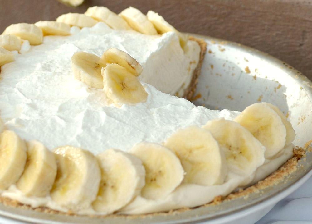 бананово-сметанный крем фото