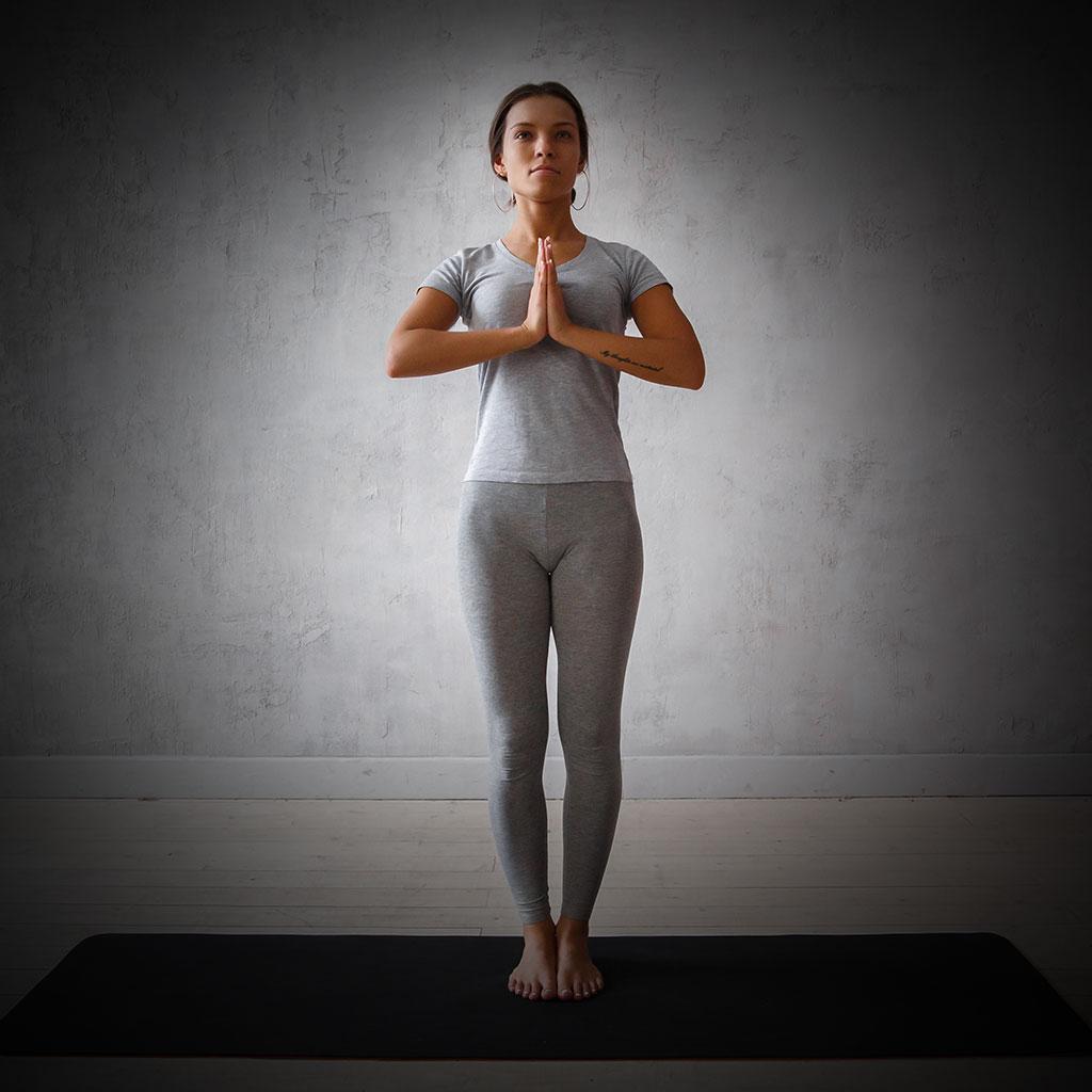 mountain pose in yoga