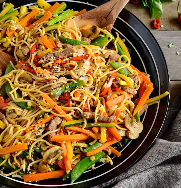 how to cook wok noodles