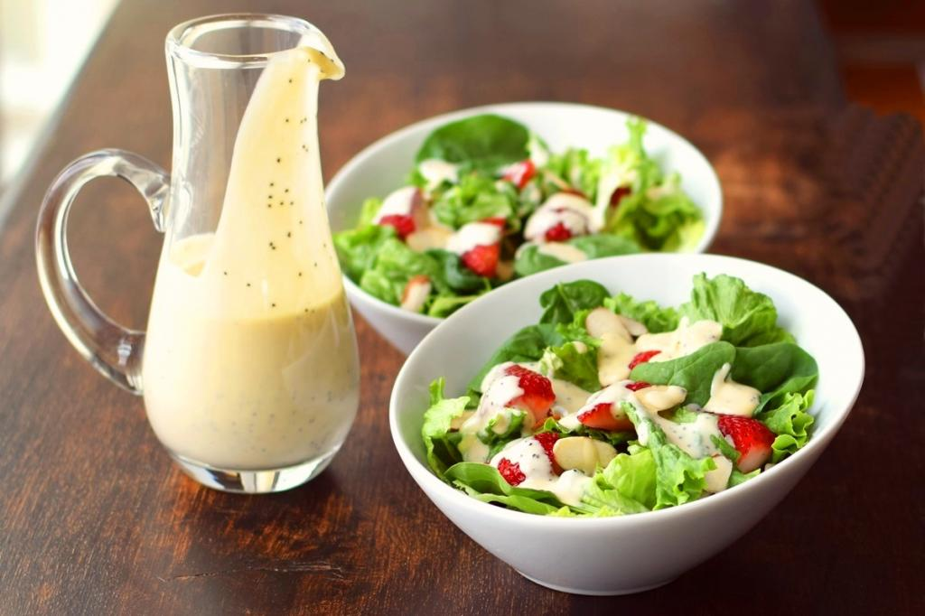 10 полезных заправок для салатов ♨