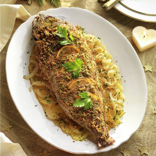 технология приготовления блюд из запеченной рыбы