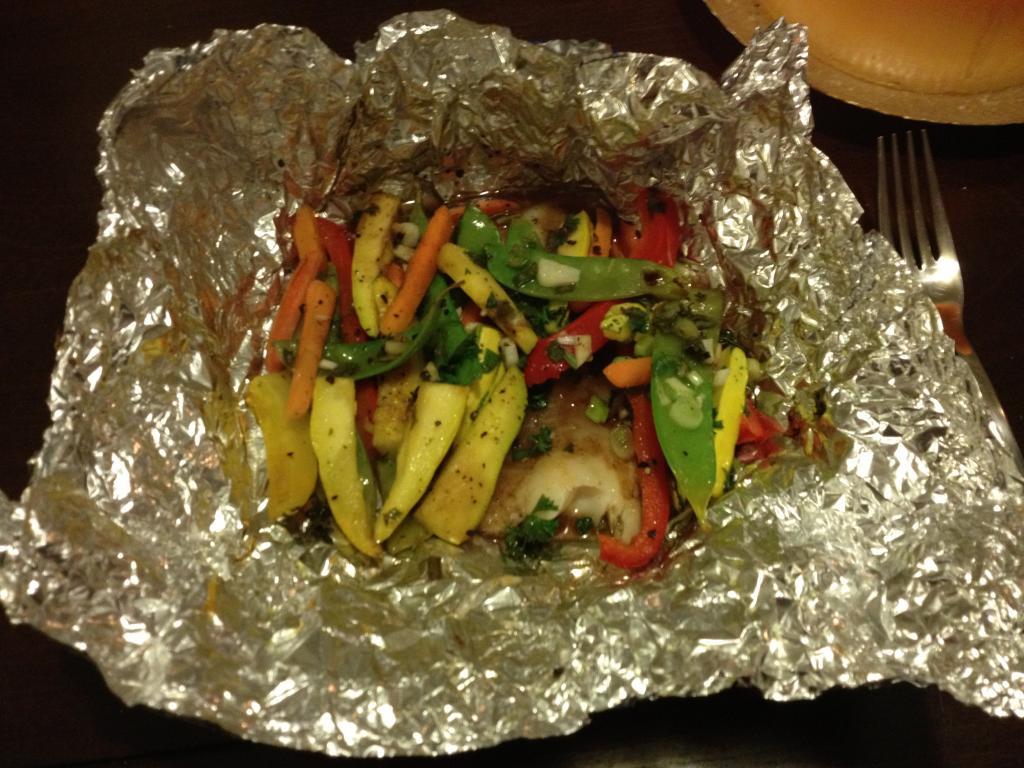 приготовление и оформление блюд из запеченной рыбы