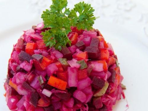 винегрет рецепт классический с капустой