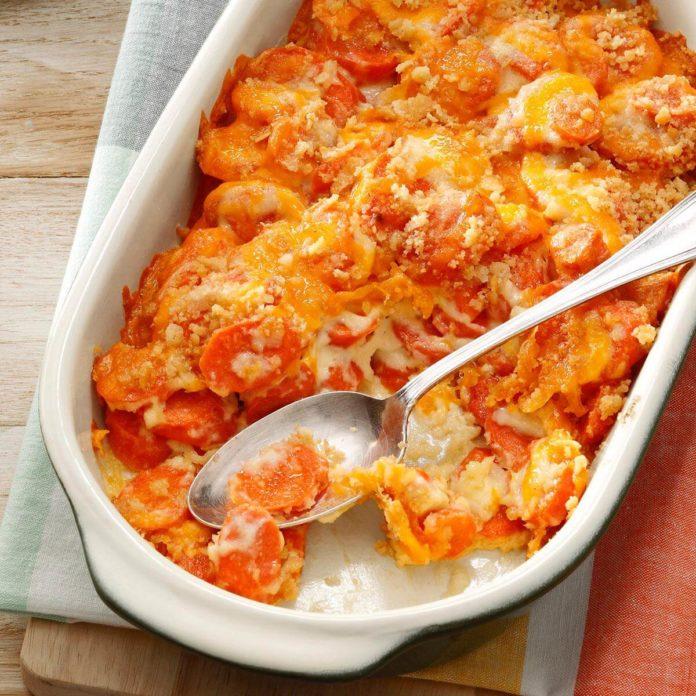 Морковь в духовке рецепт