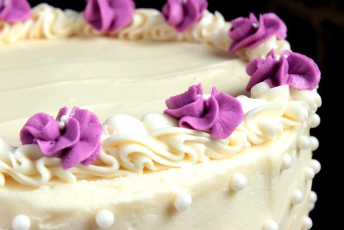 украшение бисквитного торта в домашних