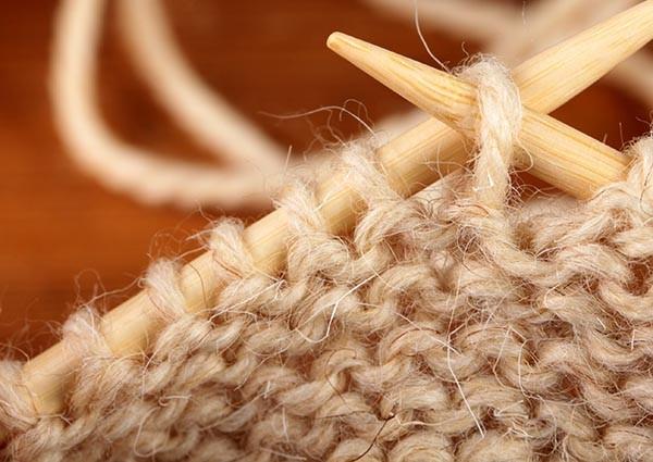 Воротник-манишка: схема вязания спицами
