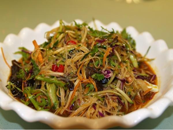 Китайские салаты рецепты с фото в домашних