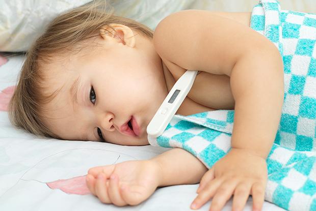 температура при отите у детей