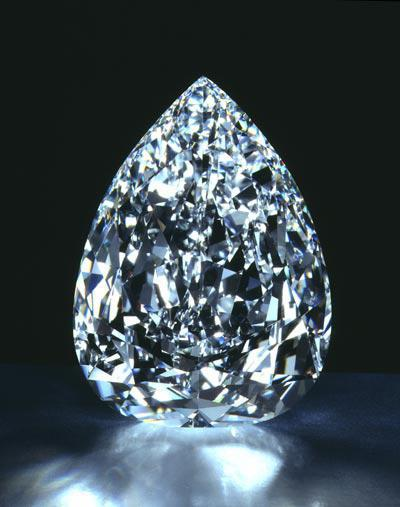крупный бриллиант