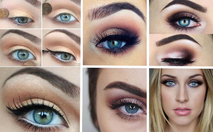 Как сделать глаза больше с помощью теней 922