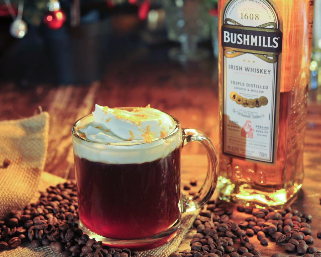 coffee with whiskey