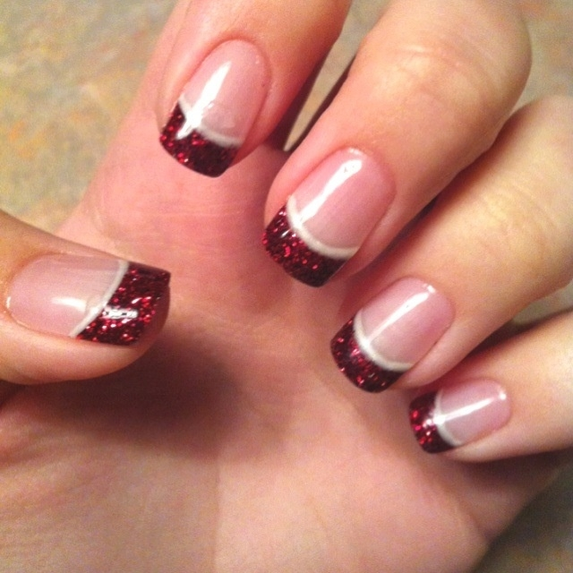 red french sequin