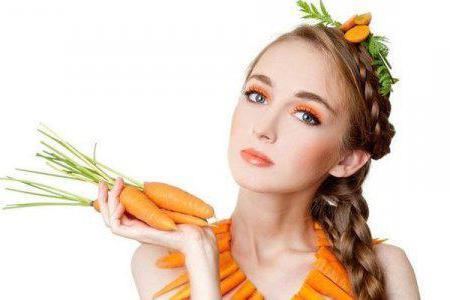 Морковная маска для лица от прыщей