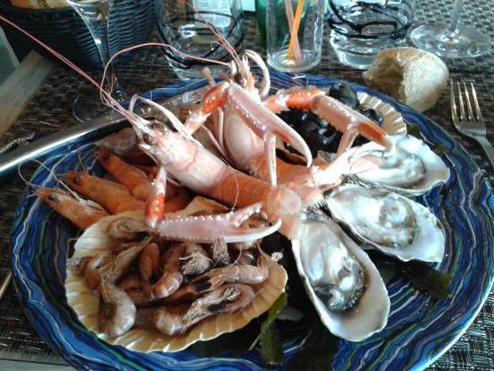 рецепты салатов из морепродуктов в креманках