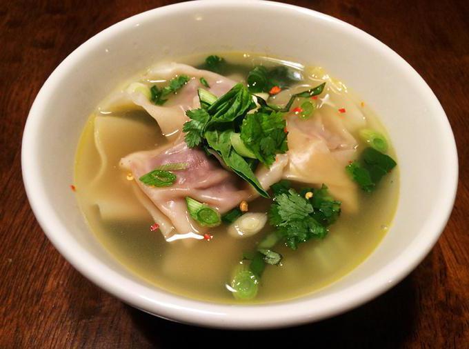 Фасолевый суп на гусе
