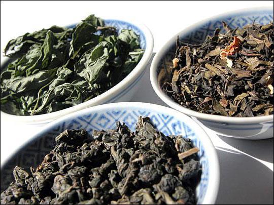 Польза чая зеленый и черный чай