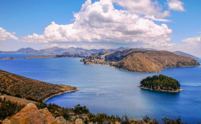 Где озеро титикака