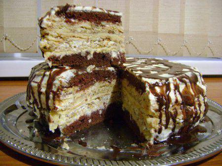 Торт семистаканник пошаговый рецепт с фото